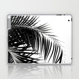 Palm Leaves Black & White Vibes #3 #tropical #decor #art #society6 Laptop & iPad Skin