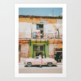 Summer in Cuba Kunstdrucke