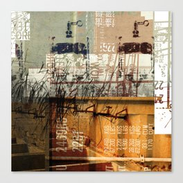 BABEL OVERDUBS II Canvas Print