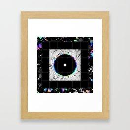 NO GOOD Framed Art Print