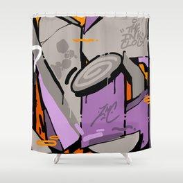 ZENITH Shower Curtain