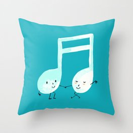 Our Song Throw Pillow