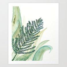 Botanical vibes 02 Art Print