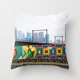 Keep Spring Garden Beautiful Throw Pillow