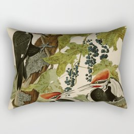 111 Pileated Woodpecker Rectangular Pillow