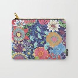 Flower Garden Carry-All Pouch
