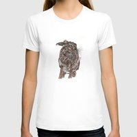 hare T-shirts featuring Hare by Meredith Mackworth-Praed