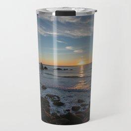 Sunset on the Oregon Coast Travel Mug