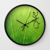lizard Wall Clocks featuring lizard by Antracit
