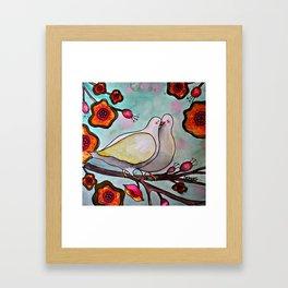 le temps des cerises Framed Art Print