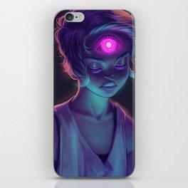 Third Eye (#Drawlloween2016 Series) iPhone Skin