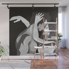 Lovers Wall Mural