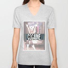 Cocaine Unisex V-Neck