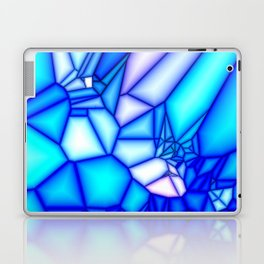Glowing blue Laptop & iPad Skin