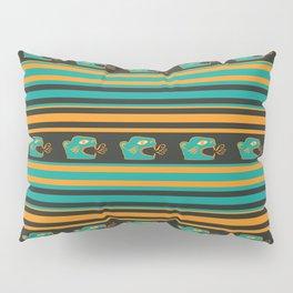 Aztec Mexican Mythological Jaguar Pattern Pillow Sham