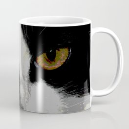 Black white cat II Coffee Mug