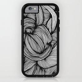 Organic Doodle 1408 iPhone Case