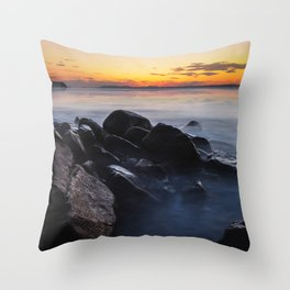 Shoal Bay, New South Wales Throw Pillow