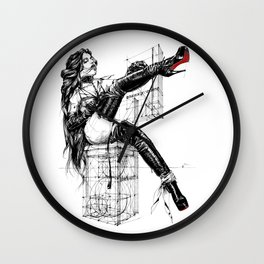 Overknees 2 Wall Clock