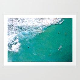 Surfing Day II Art Print
