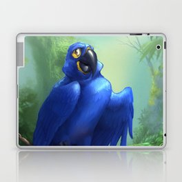 Moseley the Hyacinth Macaw Laptop & iPad Skin