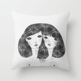 Patterns in my soul Throw Pillow