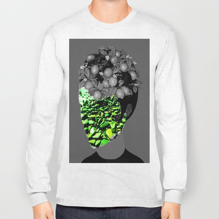 The face mask Long Sleeve T-shirt