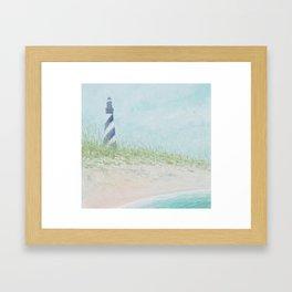 Cape Hatteras Lighthouse Framed Art Print
