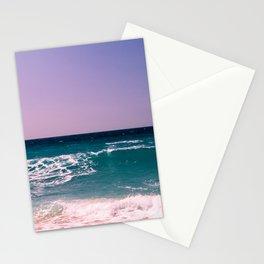 Azure Waves Stationery Cards