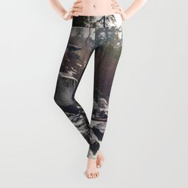 Morning Mountain Escape - Nature Photography Leggings