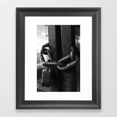 Trapped Mind Framed Art Print