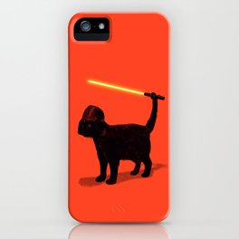 Cat Vader iPhone Case
