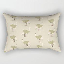 Whimsical Emu Rectangular Pillow