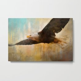 The Essence Of The Eagle Metal Print