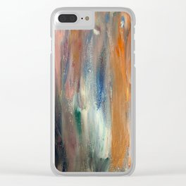 Untitled (Silver) Clear iPhone Case
