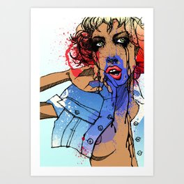 Follow You Down Art Print
