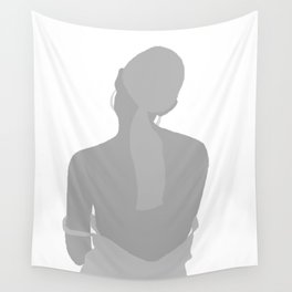 WOMAN - hot, sad, melancolic, light Wall Tapestry