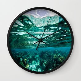 Caribbean Layers  Wall Clock