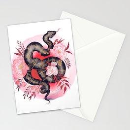 Black Snake Stationery Cards