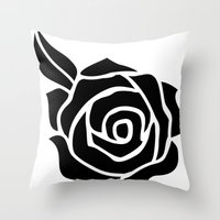 anime Throw Pillows featuring Anime 1 by Prince Of Darkness