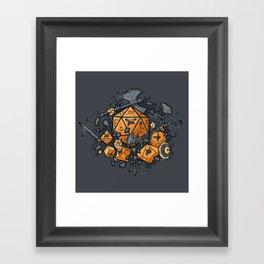 RPG UNITED Framed Art Print