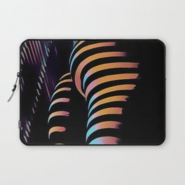 7485s-MAK Zebra Striped Curves Butt Thighs Bum Ass Rear Bottom Laptop Sleeve