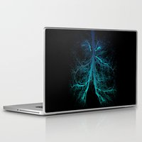 lungs Laptop & iPad Skins featuring Aqua Lungs by MUSENYO