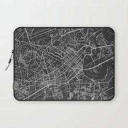 Ho Chi Minh City Map, Vietnam- Gray Laptop Sleeve