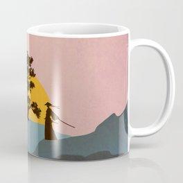 Nature Love Of A Peacful Warrior Coffee Mug