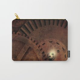 The Man in the Machine - A Steampunk Fantasy Carry-All Pouch