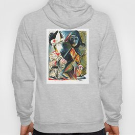 Pablo Picasso Le clown et l'Harlequin (The Clown and the Harlequin) 1971 Artwork, tshirt, tee, jerse Hoody