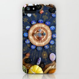 Wheel Of The Year iPhone Case