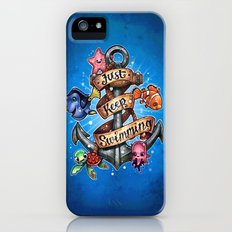 Just Keep Swimming iPhone (5, 5s) Slim Case