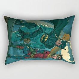 bat man the watch men justice league man of steel Rectangular Pillow